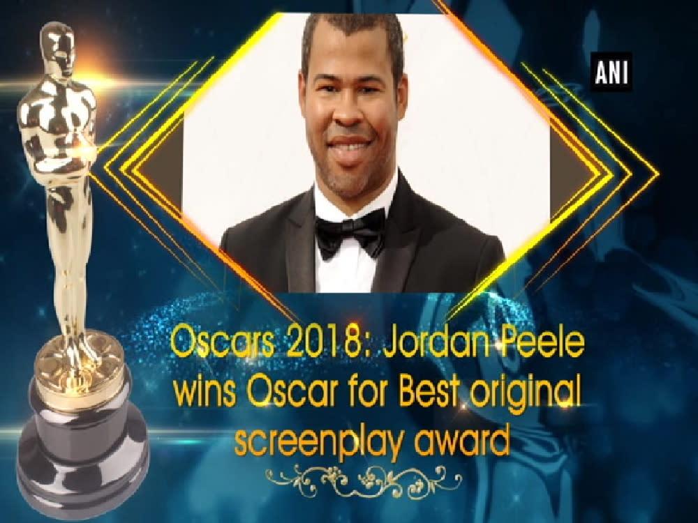 oscars 2018 jordan peele wins oscar for best original