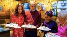 Kate Middleton and Prince William join forces with Mary Berry for festive TV show