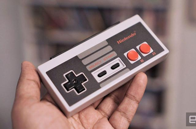 Nintendo's Switch NES gamepads are an unnecessary blast from the past
