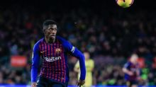 Foot - ESP - Barça - Barça : Ousmane Dembélé avec le groupe à l'entraînement