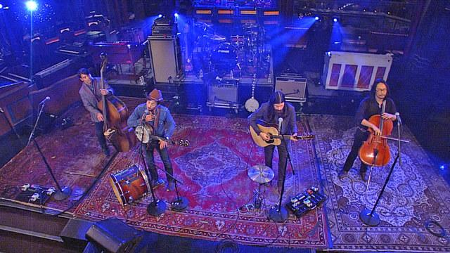 Live On Letterman - The Avett Brothers: Salina