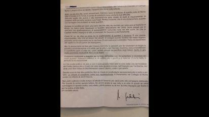 """Gentiloni scrive a suoi elettori: """"Non fidatevi delle promesse mirabolanti"""""""