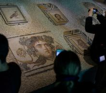 Plundered 'Gypsy Girl' mosaics back in Turkey after decades in U.S