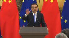 【中歐峰會】李克強否認要求歐盟共同抗美