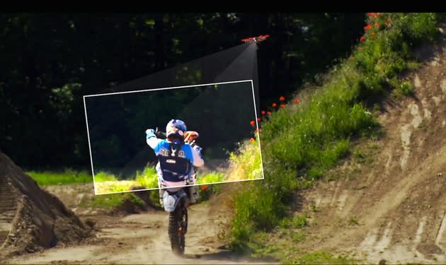 Autonomous camera drone lets you shoot your own action scenes