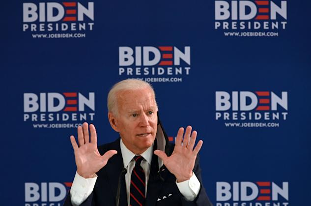 Joe Biden calls on Facebook to 'promote real news, not fake news'