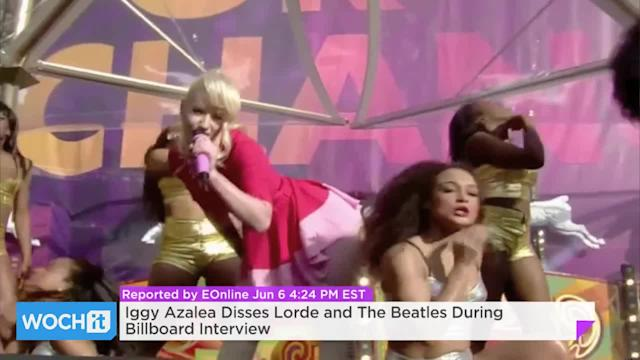 Iggy Azalea Disses Lorde And The Beatles During Billboard Interview