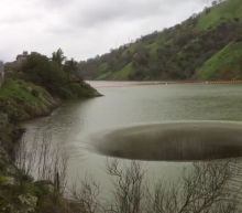 VIDEO: Water flows into iconic Lake Berryessa Glory Hole
