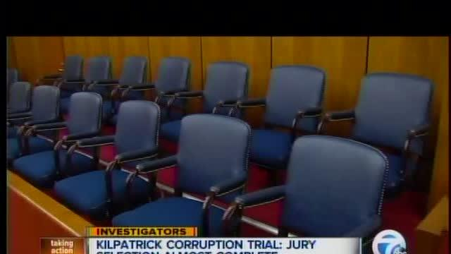 Kilpatrick corruption trial: Jury selection almost complete