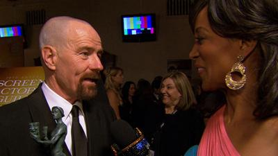 SAG Awards 2013: Bryan Cranston's 'Overwhelming' Night