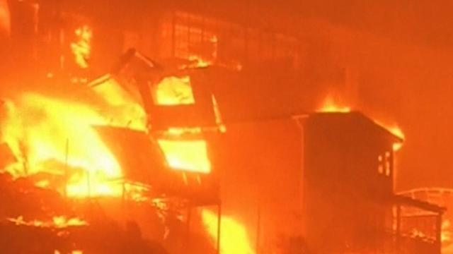 Chile wildfire: 12 killed, thousands of homes destroyed