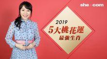 雲文子2019流年運程生肖排行榜-桃花篇