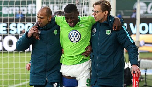Bundesliga: VfL Wolfsburg einige Wochen ohne Ntep