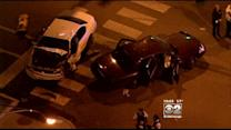 Three CPD Officers Hurt In Squad Car Accident On West Side
