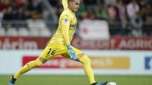 Foot - Amical - Nîmes - Amical: Lucas Dias (Nîmes) sort sur blessure contre Rodez