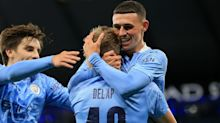 Manchester City youngsters Liam Delap and Phil Foden strike to dump Bournemouth out of League Cup