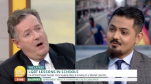 'That is homophobia': Piers Morgan hits out at 'GMB' guest who defends parents removing children from LGBTQ+ lessons