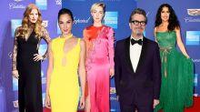This week's best dressed celebrities: 1 January 2018