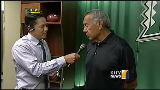 Coach Norm Chow talks about the upcoming season pt. 2