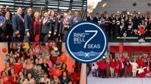 Around the World Celebrity Cruises Rings the Bell on the 7 Seas in Honor of International Women's Day and Gender Equality