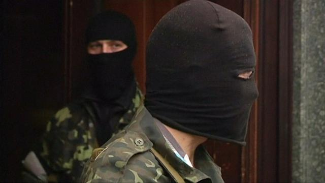 PRO-RUSSIAN SEPARATISTS SEIZE NEW BUILDINGS IN UKRAINE
