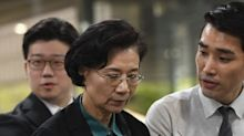 The mother of Korean Air's infamous 'nut rage' executive was convicted of assaulting her chauffeur