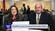 Netflix Loses Ground On Sales Miss