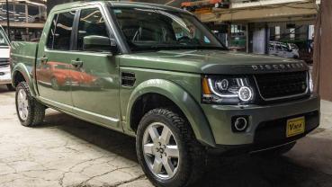 墨西哥的改裝廠替我們實現了 Land Rover Discovery 貨卡!