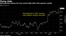 MercadoLibre Soars to Record as Payments Growth Impresses Street