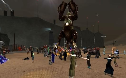 Anarchy Online player hijacks GM account, runs amok in game