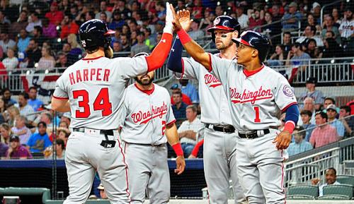 MLB: Harper, Nationals verprügeln Braves