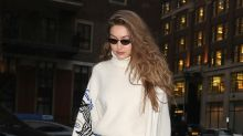 Gigi Hadid wears ripped jeans and $49 mules during fashion week