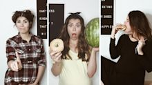 Mum shares reality of pregnancy week by week in hilarious pictures