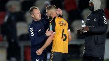 Newcastle beats 4th-tier Newport on penalties in League Cup