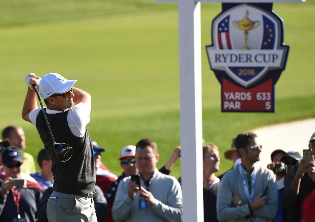 US, Europe splitting four early Ryder Cup matches