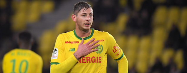 Cardiff City's newest striker Emiliano Sala was on a plane that disappeared while on route to Cardiff. (Getty Images)