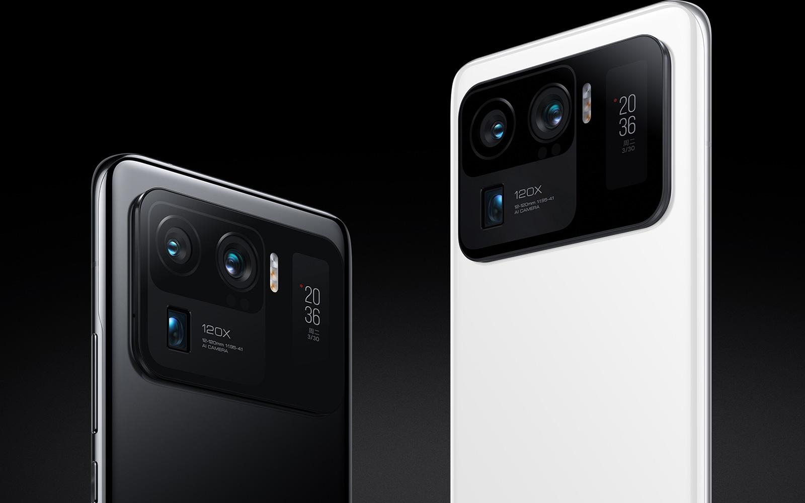 Xiaomi's Mi 11 Ultra has a tiny selfie screen on the back | Engadget