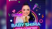 Baby Shima to perform live in mini concert tonight