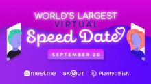 The Meet Group Announces World's Largest Virtual Speed Dating Event