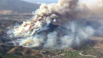 Worst fire conditions in 5 years in southern California
