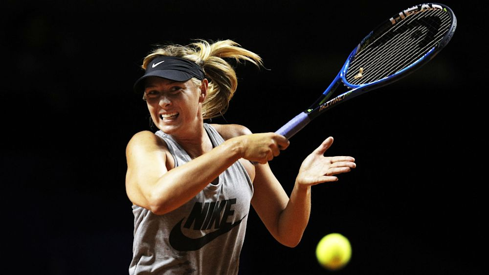 Maria Sharapova a winner in first match after doping ban
