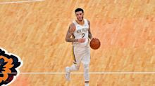 Lonzo Ball returns to starting lineup for Pelicans vs. Wizards, will be under minutes restriction