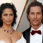 Matthew McConaughey just gave a rare interview about his wife Camila Alves