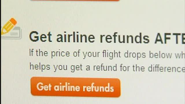 Free price assurance for airline tickets