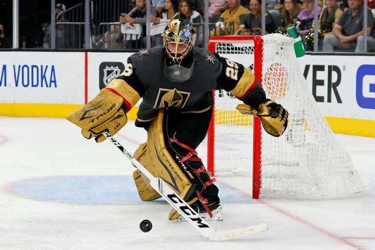 Vegas trades NHL top goalie Fleury to Chicago