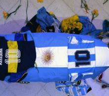 Maradona: Anger over funeral home photos with legend's open coffin