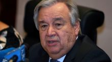 U.N. chief voices concern about fighting in northwest Syria, calls for ceasefire