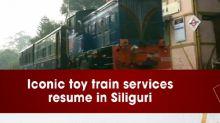 Iconic toy train services resume in Siliguri