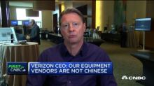 Verizon CEO: Huawei order doesn't affect us, our equipment vendors aren't Chinese