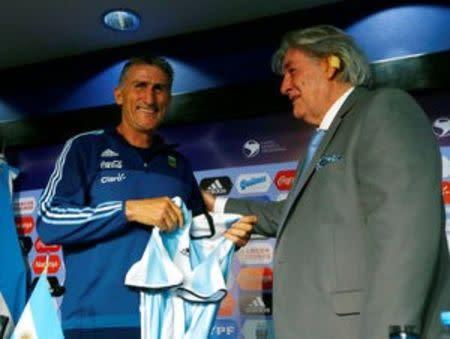 Despedido el seleccionador argentino de fútbol Bauza